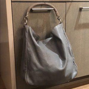 YSL Roady leather hobo bag